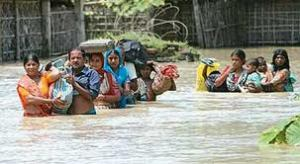 Aug 2008 flood disaster due to breach in Kosi Embankment
