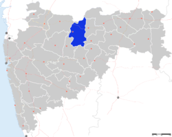Location of Buldhana in Maharashtra