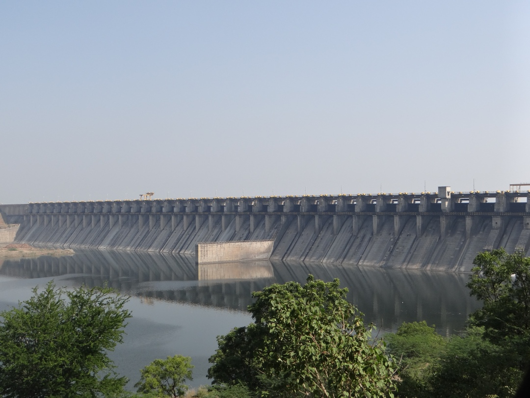 Ujani Dam that has zero water in live storage now