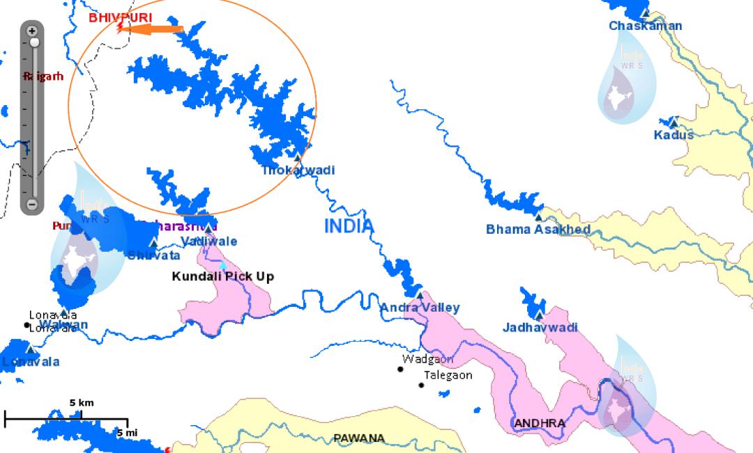 Khopoli Project, one of the Tata Dams