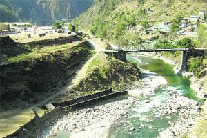 Lakhwar Dam Site Photo Courtesy: Tribune