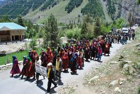 Protests against Hydel Projects on Chenab in Himachal Courtesy: Himdhara