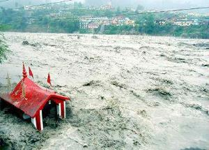 Floods in Uttarakhand Courtesy: Times of India