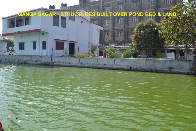 6. Ganga Sagar Scene of Encroachment