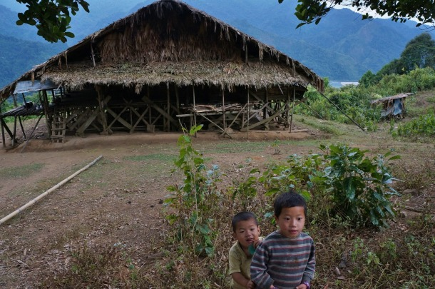 A house in the upstream of Subansiri River  Source: http://cooperfreeman.blogspot.in/2012/12/the-wild-east-epic.html