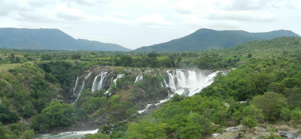 The lovely bharachukki falls on Cuavery, also shackeled by many mini hydel projects. Photo: SANDRP
