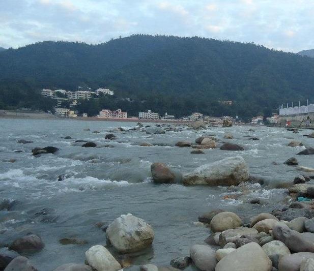 Mighty Ganga at Rishikesh Photo: Himanshu Thakkar, SANDRP