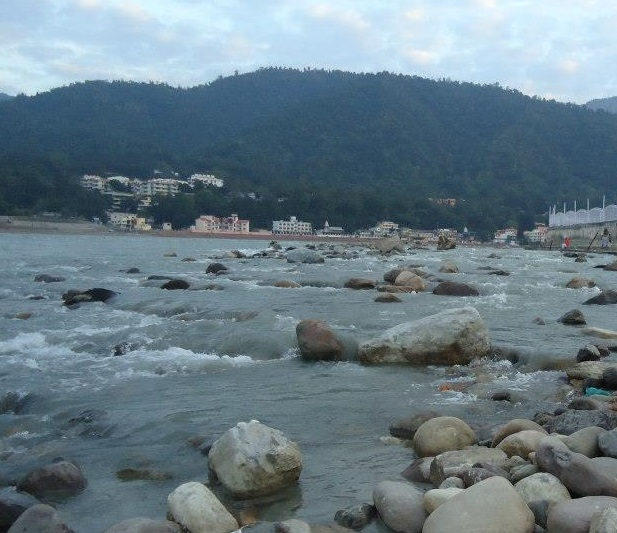 Mighty Ganga at Rishikesh Photo: Himanshu Thakkar, SANDRP