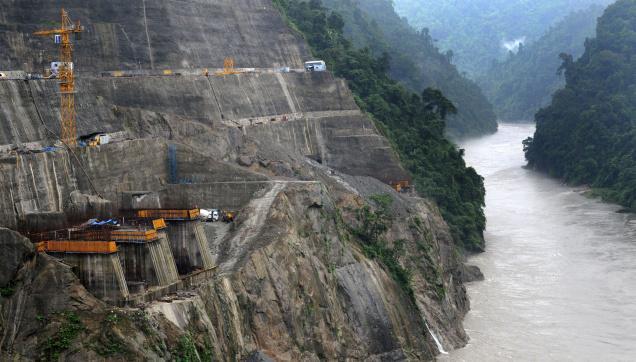 Lower Subansiri HEP Source: The Hindu