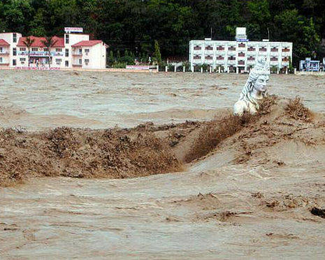 Floods in Uttarakhand Photo with thanks from Times of India