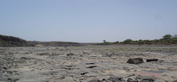 Site of the proposed Mohanpura Dam (Source: EIA)
