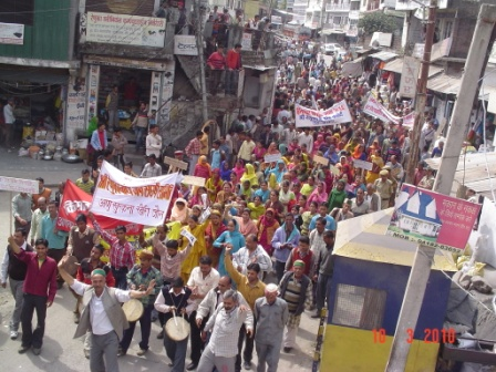 The Cost of Delhi's Water: Protest against Construction of Renuka Dam in Himachal Pradesh