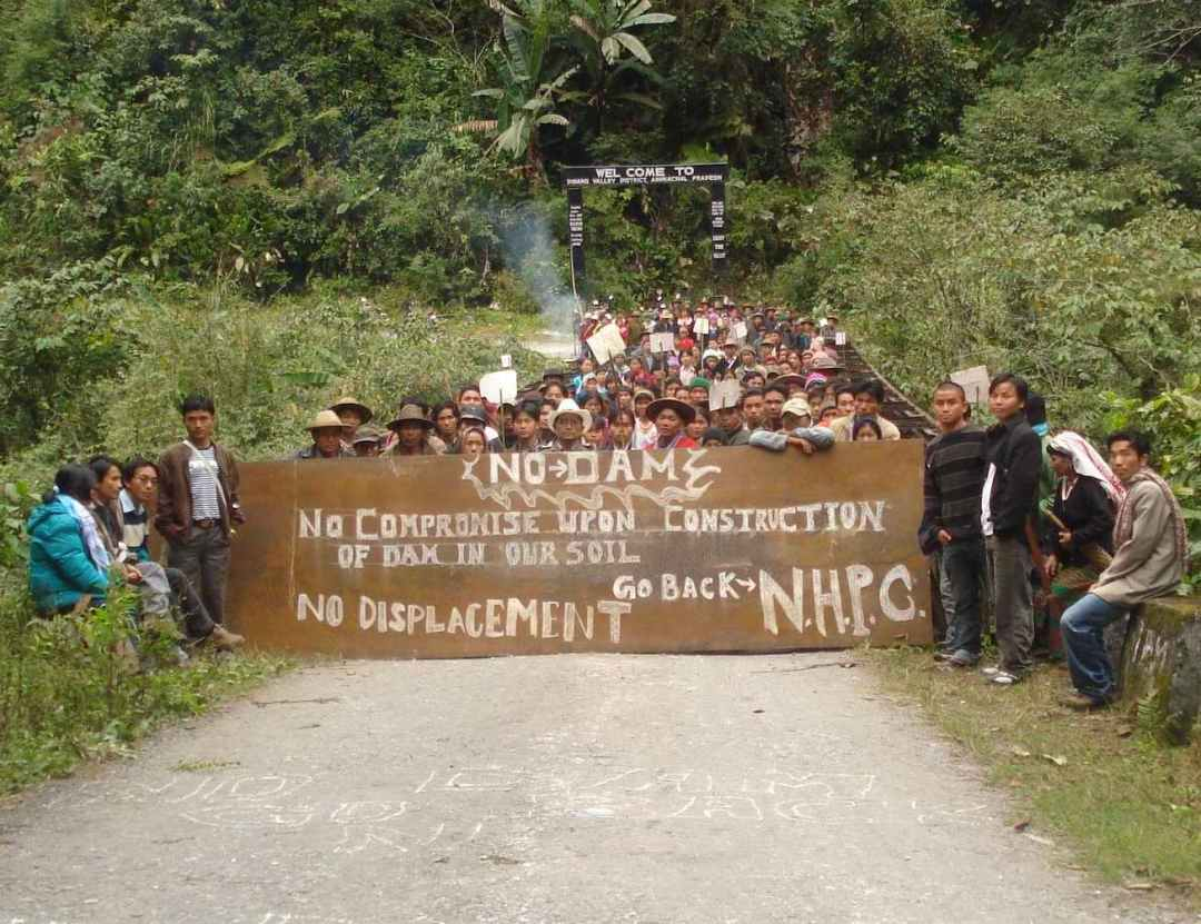 The affected people stopping the public hearing in 2008 since they knew that that was their only chance to be heard. Source: http://www.roingcorrespondent.in/this-circus-should-stop-no-public-hearing/