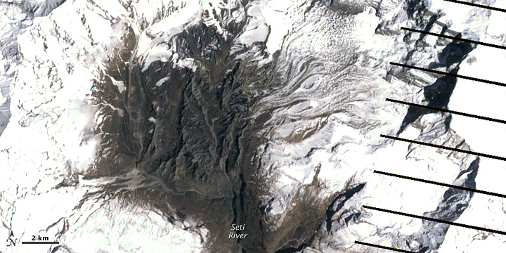 Explained: Seti River floods in May 2012, Nepal- A chain of events, starting at 25,000 feet! (4/6)