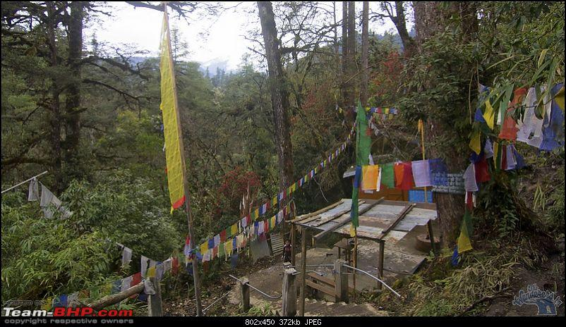 Prayer Flags in Siang basin Photo: Team BHP