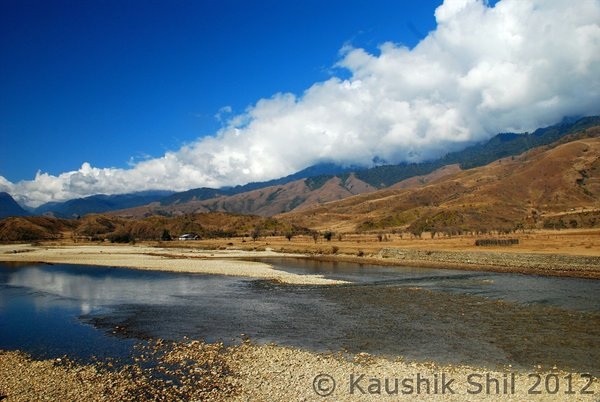 Yar Gyap Chu: a River and basin which holds high religious significance for the Buddhists Photo: Kaushik Shil