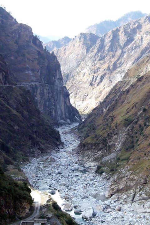 Satluj, downstream Nathpa Jhakri Dam Photo: SANDRP partners