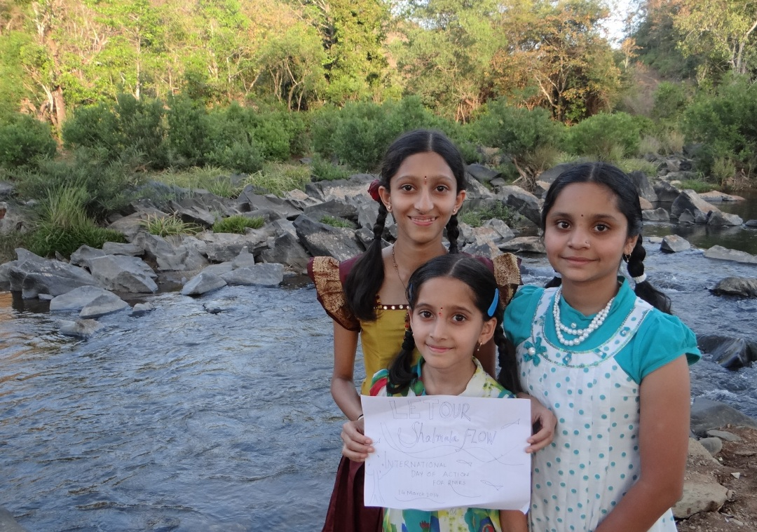 """Let our Shalmala Flow. International Day of Action for Rivers"""
