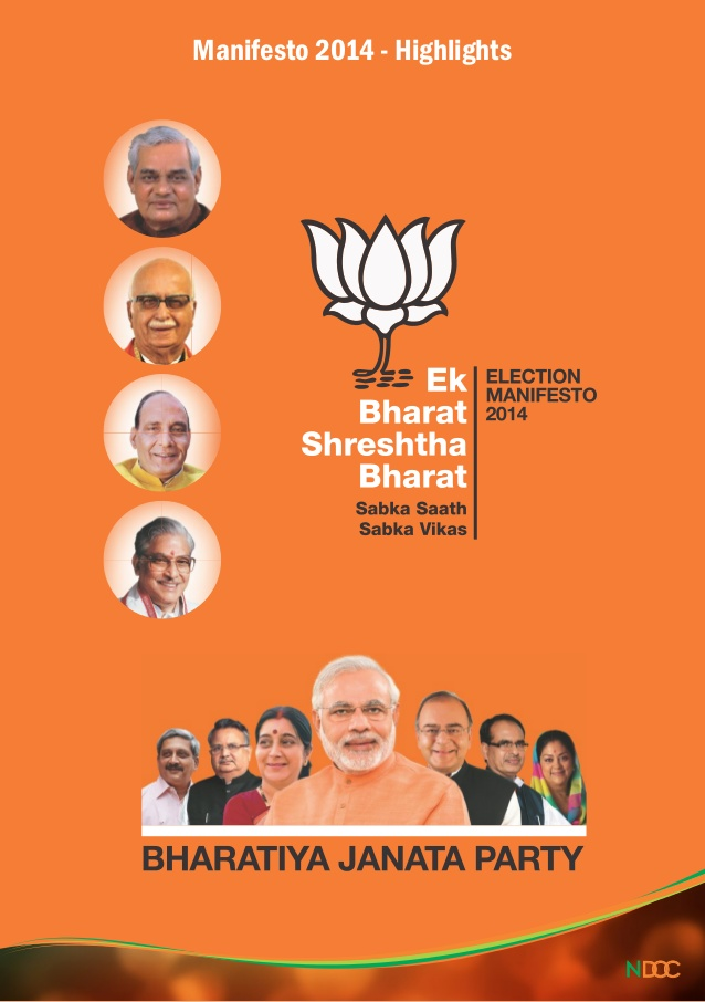 Election manifestos of BJP, Congress and AAP:  Comparative reading on Environment and natural resource management (1/3)