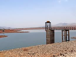 Bhama Askhed Dam in Maharshtra, canal systems not ready despite 2 decades of work. Photo:SANDRP