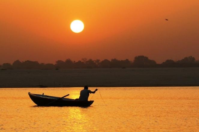 River Ganga at Varanasi Photo: amar123