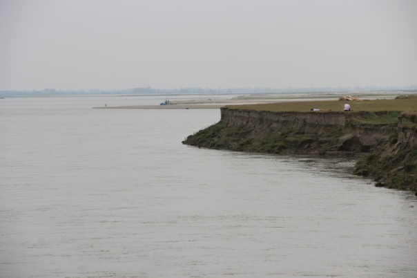 Erosion at Matmora-Tekeliphuta Ghat. Photo - SANDRP