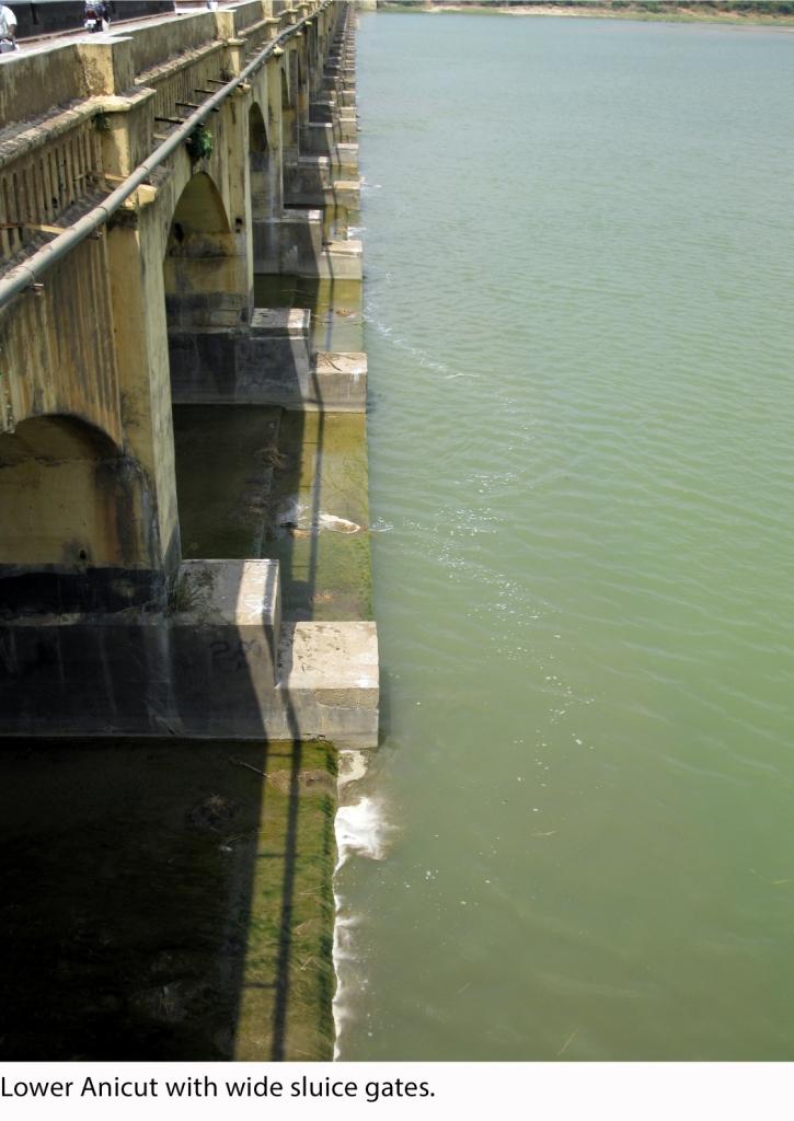 Lower Anicut Sluice gates Low Res