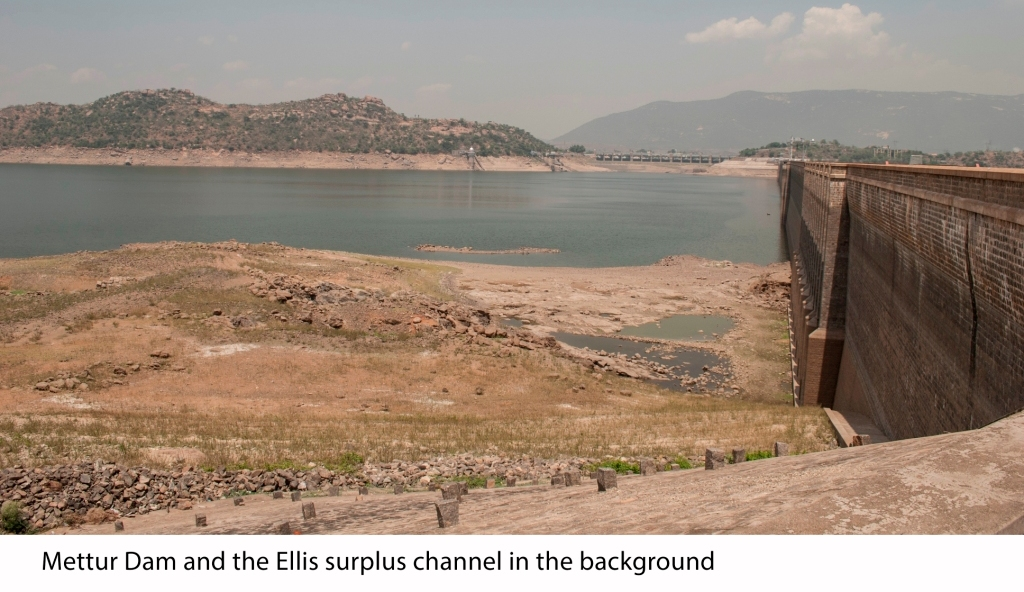 Image result for mettur dam  is drying with out water