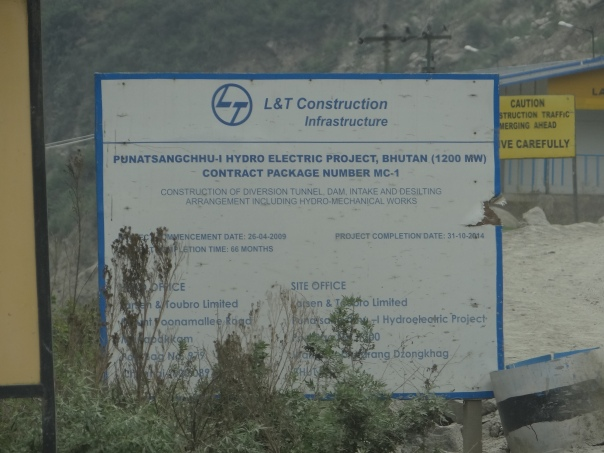 L and T India is the main contractor for Dam Wall