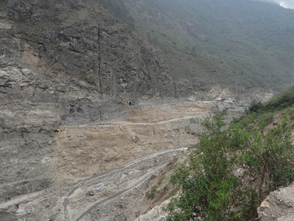 Diverted River, dry and without flows Photo: SANDRP