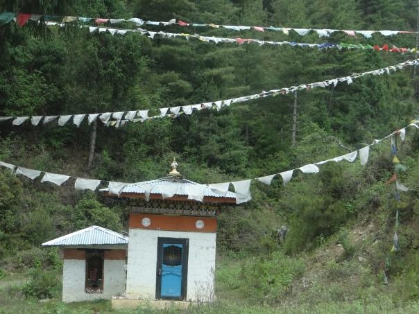 A roadside water wheel on way to Thimpu Photo: SANDRP