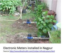 Nagpur electronic meteres installed