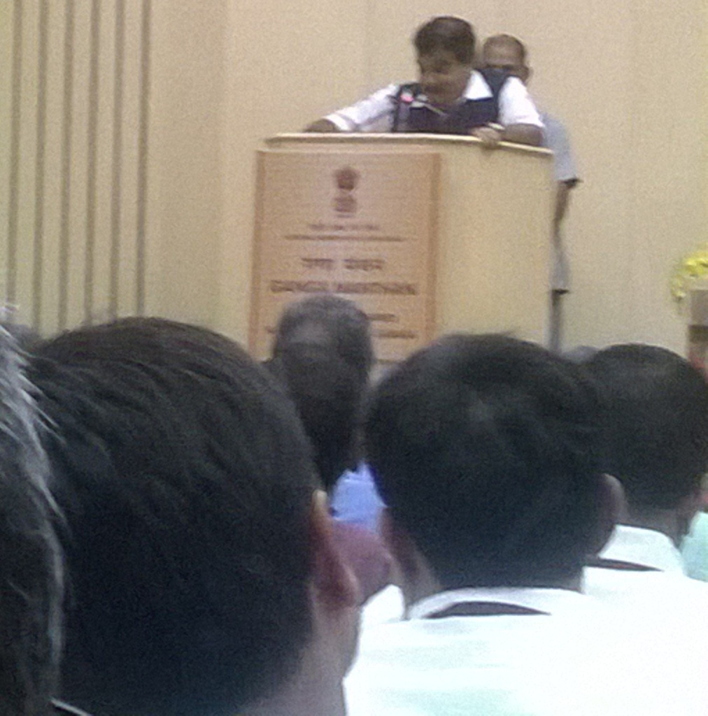 Nitin Gadkari at GM