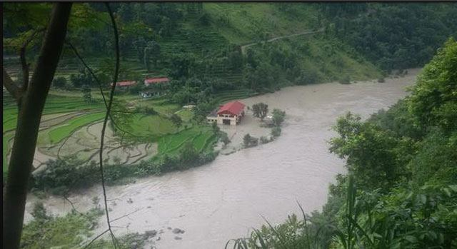 A view of Sanima Power House in Sindhupalchok, photo courtsy Himalayan Times, Nepal