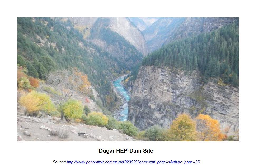 Dugar HEP Site