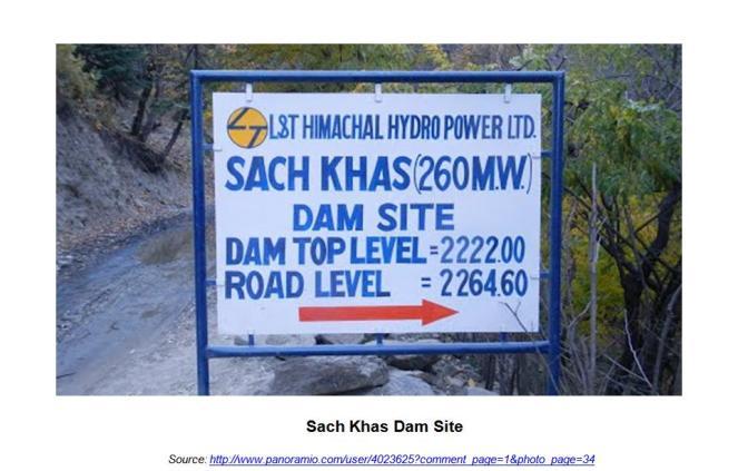 Sach Khas Dam Site