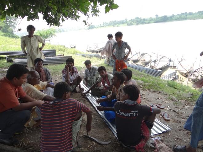 Fishermen upstream Farakka are a worried lot