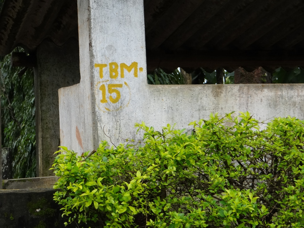 Survey markings in Sakaleshpur. People had no idea why the survey was carried out and no information was given. Photo: Parineeta Dandekar
