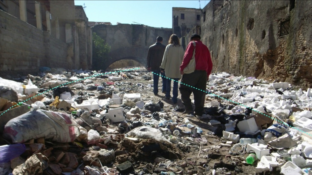 Fez River - A River of Trash as Aziza says Source - TED