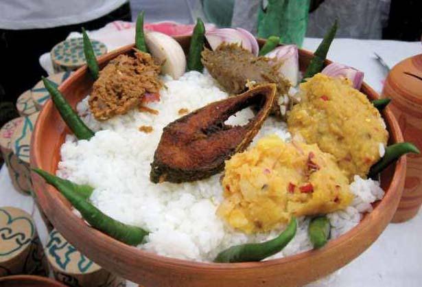 Ilish on Pohela Baishakh Photo: Flickr