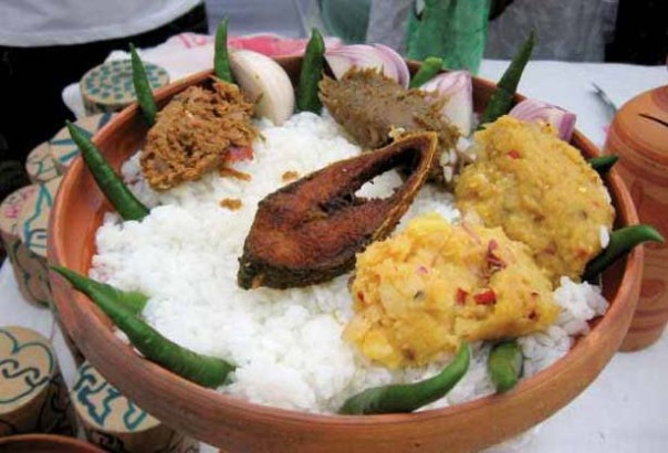 Ilish on Pohela Baishakh Photo: Flickr
