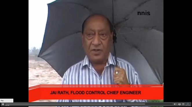 J&K Flood Control Chief Engineer called the situation Alarming. Photo Source - NNIS
