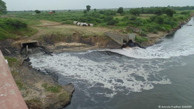 Sabarmati Effluent & Sewage Discharge 6