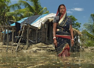 From Peter Caton's remarkable Photo documentation of teh Sea Level rise in Sunderbans Photo: Peter Caton/ Greenpeace