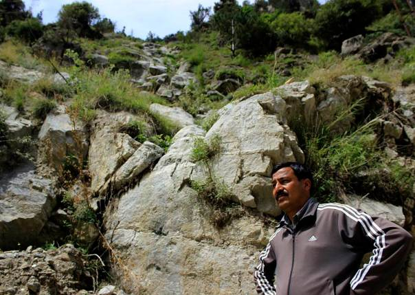 Murim-I, is a local stream that dried up due to the 17 km long 1000MW Karcham Wangtoo project's tunnel in Kinnaur district. The stream is surrounded by grazing lands