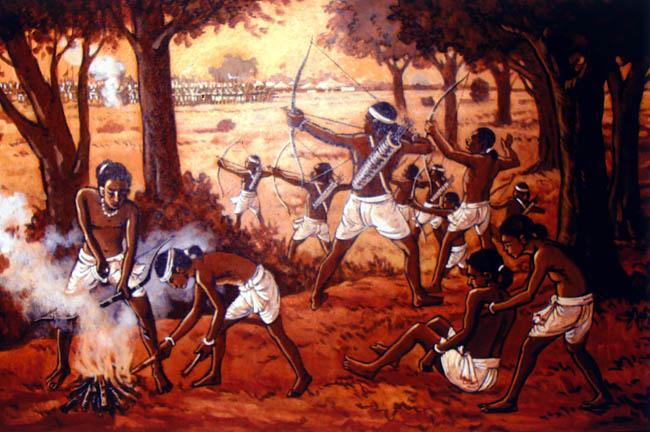 Fights of Birsa Munda Photo from: Sivatravelogue