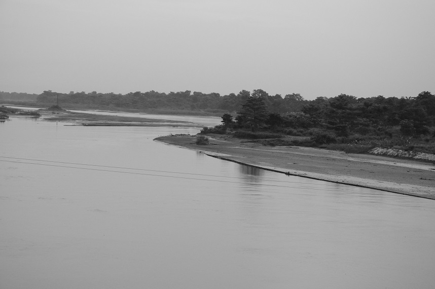 Mighty Brahmaputra in  Assam