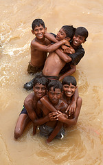 Children and Godavari Photo with thanks from: https://www.flickr.com/photos/32835899@N07/3855165595