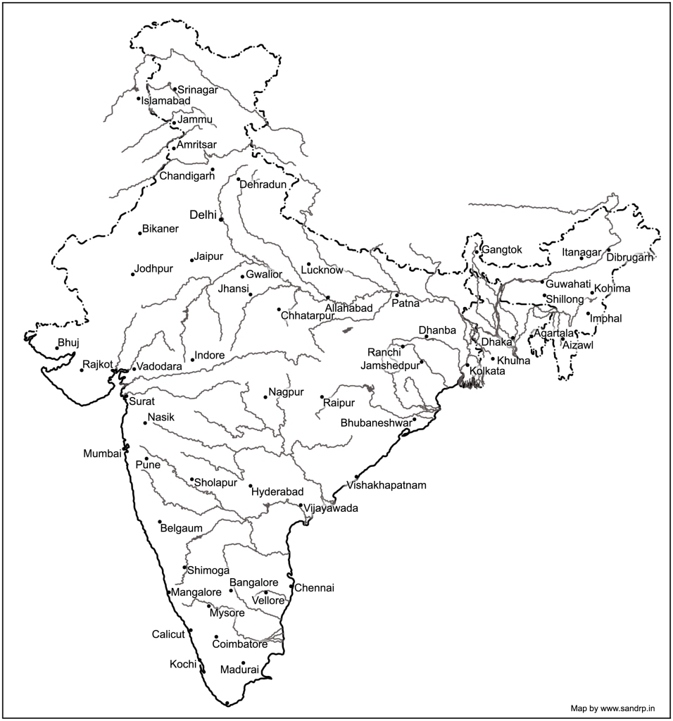 Drainage System of Indian Rivers