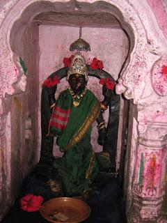 Idol of Godavari at Brahmagiri, her origin. Photo from: http://dharmanlife.blogspot.in/